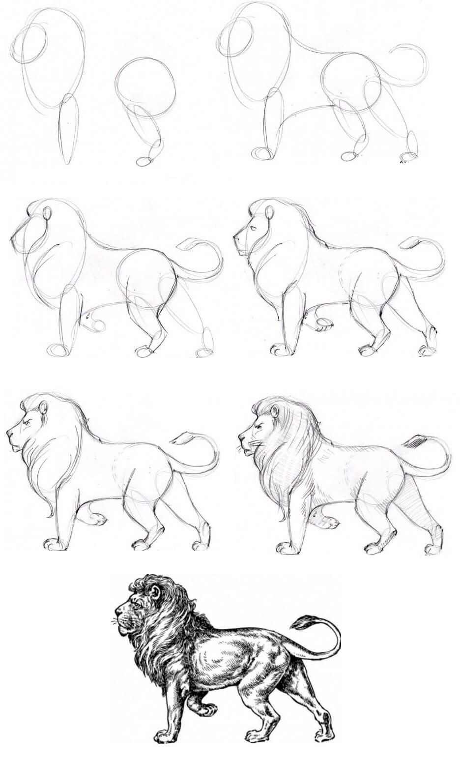 Как рисовать классные картинки поэтапно