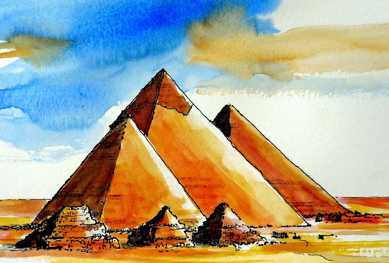 Изображения картинки пирамиды