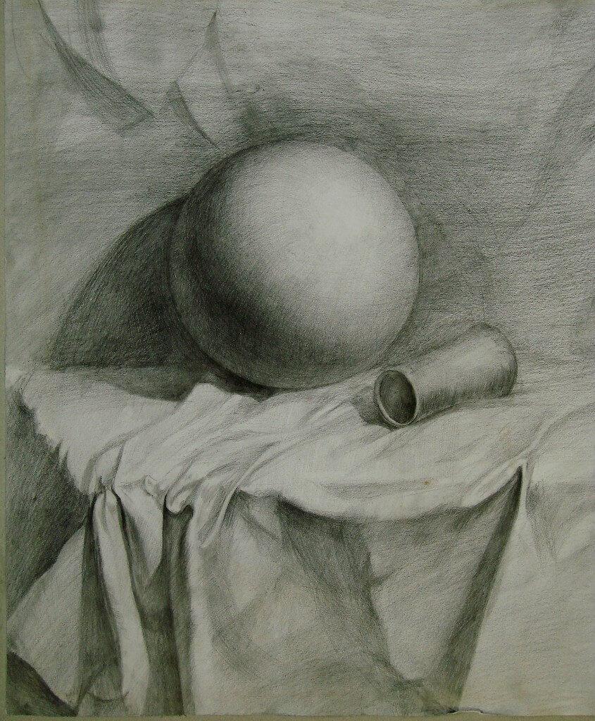 Шар картинки карандашом